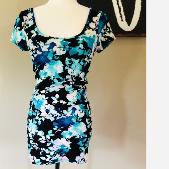 Charlotte Russe floral bodycon dress